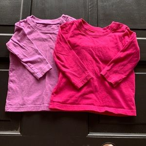 Primary Baby Long Sleeve Shirts 6-12 Months
